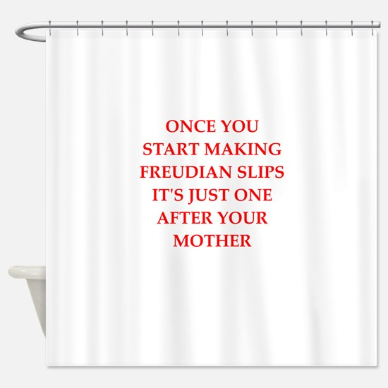 freud Shower Curtain