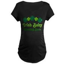 Cute Pregnant st patrick%27s day T-Shirt