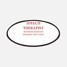 Speech Therapist Patch