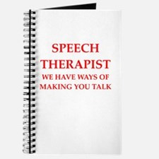 speech therapist Journal