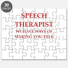 speech therapist Puzzle
