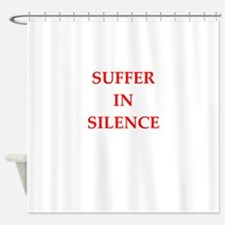 suffer Shower Curtain