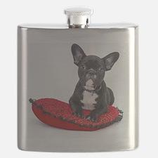 Cool French bulldog Flask