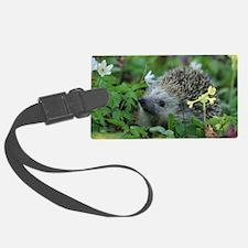 Cute Hedgehogs Luggage Tag