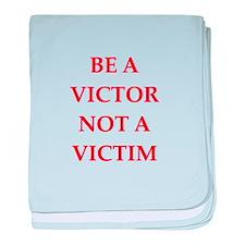 victor baby blanket