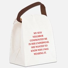 underwear Canvas Lunch Bag