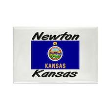 Newton Kansas Rectangle Magnet