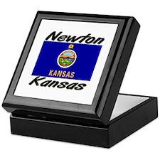Newton Kansas Keepsake Box