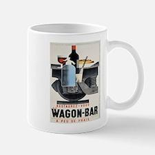 Vintage poster - Wagon-Bar Mugs