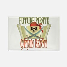 Future Pirates Rectangle Magnet