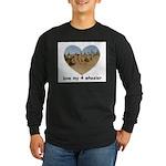LOVE MY 4 WHEELER Long Sleeve Dark T-Shirt