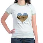 LOVE MY 4 WHEELER Jr. Ringer T-Shirt