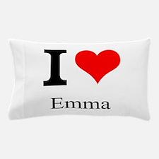I Love Emma Pillow Case