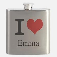 I Love Emma Flask