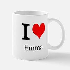 I Love Emma Mug