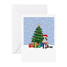 Border Collie Season's Greeting Cards (Pk of 20)