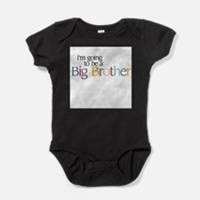 Cool I%27m going to be a big brother Baby Bodysuit