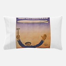 Vintage poster - CCCP Pillow Case
