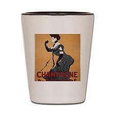 Funny France champagne Shot Glass