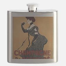 Funny Vintage champagne Flask