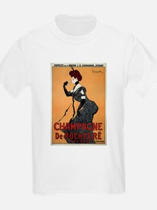 Vintage poster - Champagne De Rochegre T-Shirt