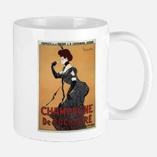 Vintage poster - Champagne De Rochegre Mugs
