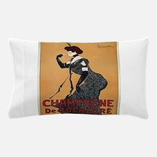 Vintage poster - Champagne De Rochegre Pillow Case