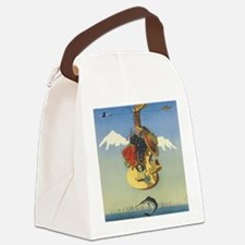 Cute Andes mountains Canvas Lunch Bag