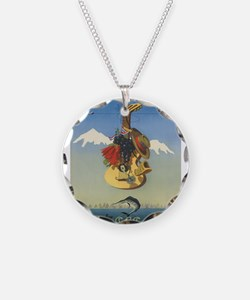 Vintage poster - Chile Necklace