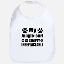 My Jungle-curl cat is simply irreplaceable Bib