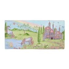 Castle - Unicorn Beach Towel