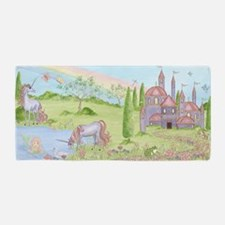 Castle - Unicorn Beach Towel