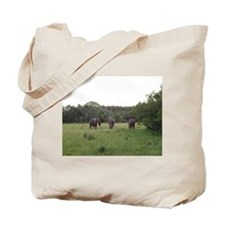 elephant 4 Tote Bag