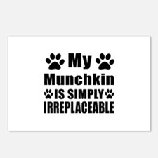 My Munchkin cat is simply Postcards (Package of 8)