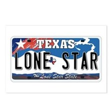 Texas - Lone Star Postcards (Package of 8)