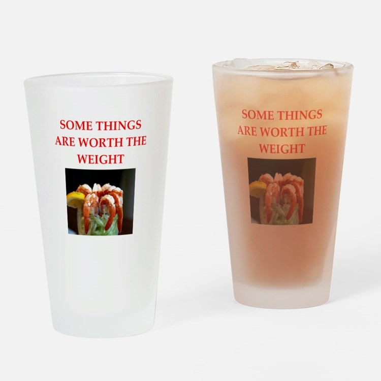 shrimp cocktail Drinking Glass