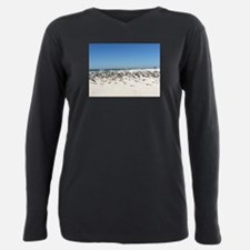 Birds at Anclote Key Plus Size Long Sleeve Tee