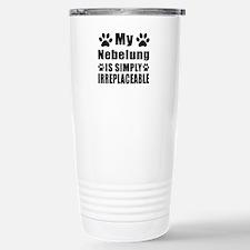 My Nebelung cat is simp Travel Mug