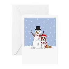 BC Howling Holiday Greeting Cards (Pk of 20)