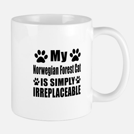 My Norwegian Forest Cat cat is simply i Mug