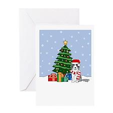 BC Howling Holiday Greeting Card