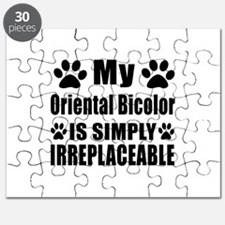 My Oriental Bicolor cat is simply irreplace Puzzle