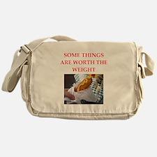 corn dog Messenger Bag