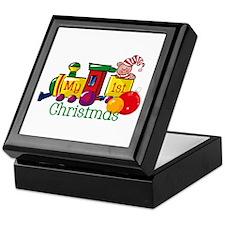 Train 1st Christmas Keepsake Box