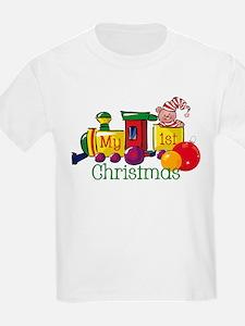 Train 1st Christmas T-Shirt