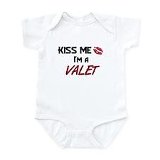 Kiss Me I'm a VALET Infant Bodysuit