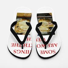 turnover Flip Flops