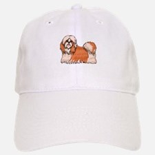 Shih Tzu Drawing Baseball Baseball Cap
