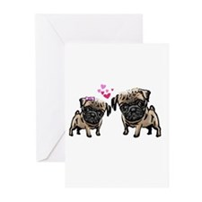 Funny Akc breeds Greeting Cards (Pk of 20)