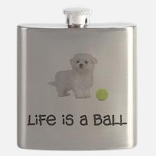 Maltese Life Flask